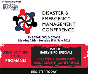 Disaster and Emergency Management Conference 12-13 July 2021 Gold Coast and Virtual tickets available
