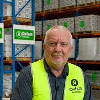 Graham Kenna, Oxfam (photo by Ronnie Wright)