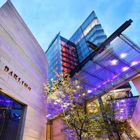 The award-winning hotel The Darling, part of The Star casino and entertainment complex in Sydney. Image provided by Brookfield Multiplex.