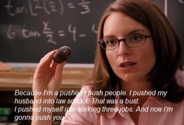 Mean Girls Tina Fey pusher