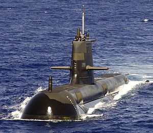 HMAS Rankin, a Collins Class submarine