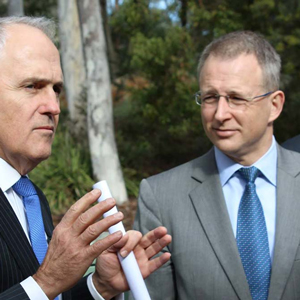 Malcolm Turnbull Paul Fletcher Image credit: govnews